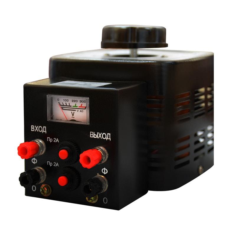 Купить Автотрансформатор (ЛАТР) ЭНЕРГИЯ Black Series TDGC2-0.5кВА 2А (0-250V) однофазный, Энергия