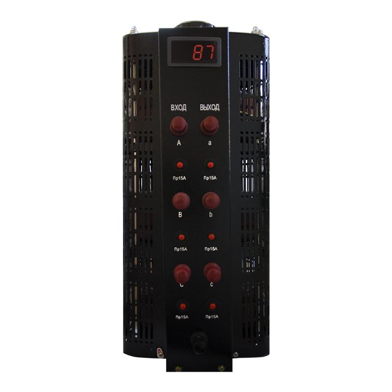 Купить Автотрансформатор (ЛАТР) ЭНЕРГИЯ Black Series TSGC2-15кВА 15А (0-520V) трехфазный, Энергия