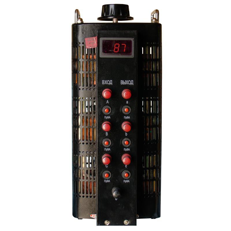 Автотрансформатор (ЛАТР) ЭНЕРГИЯ Black Series TSGC2-9кВА 9А (0-520V) трехфазный